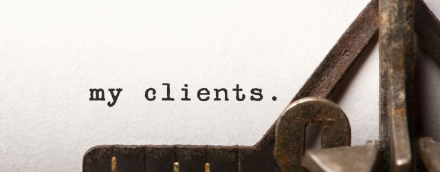 Find out about clients and publications I've worked with